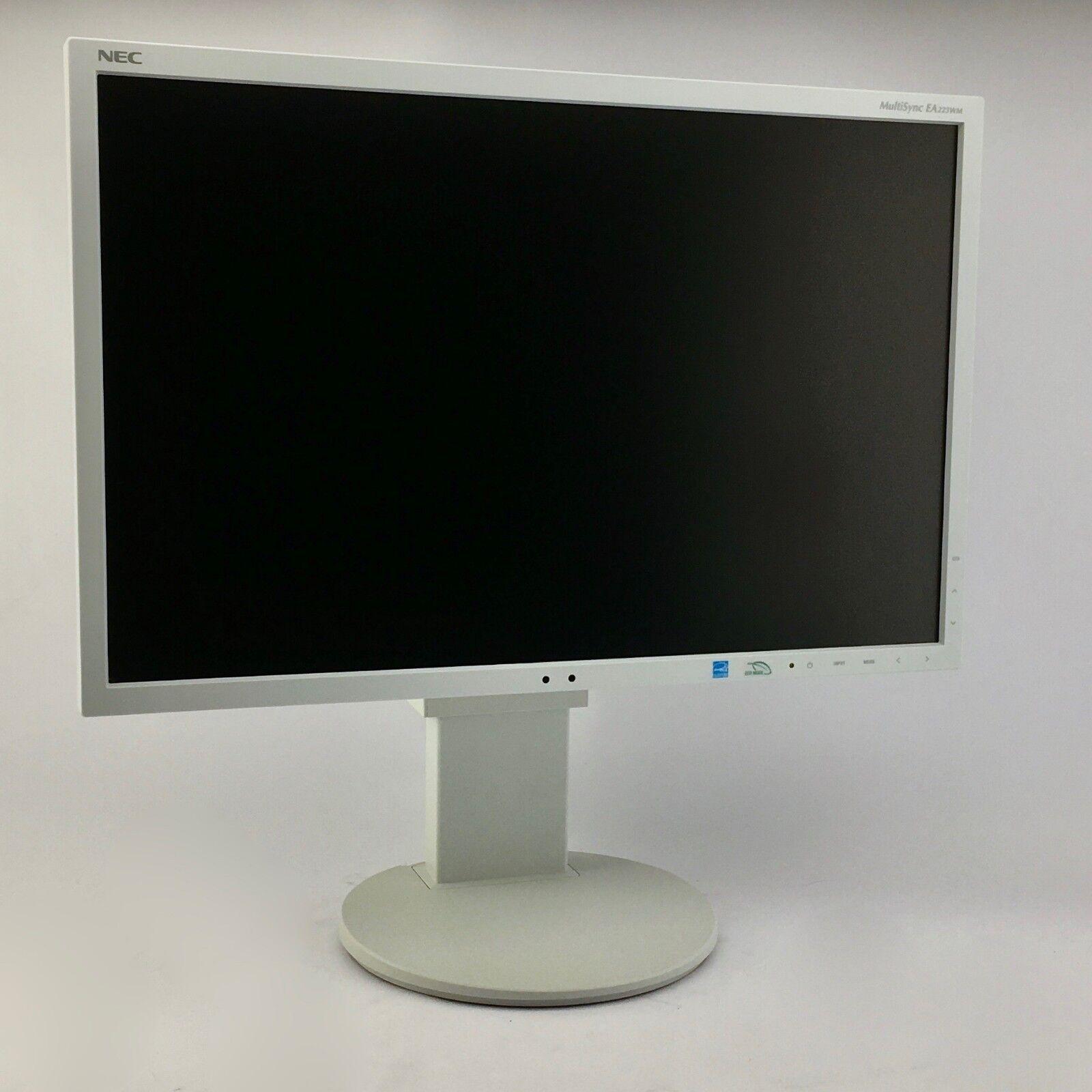 22 Zoll Monitor, NEC EA223WM, DVI, VGA, DP, 1680 x 1050, TN Panel, Audio, B