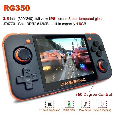 RG350 3.5 inch IPS Retro Upgrade Handheld Game Console Free Shipping Free Game Systems