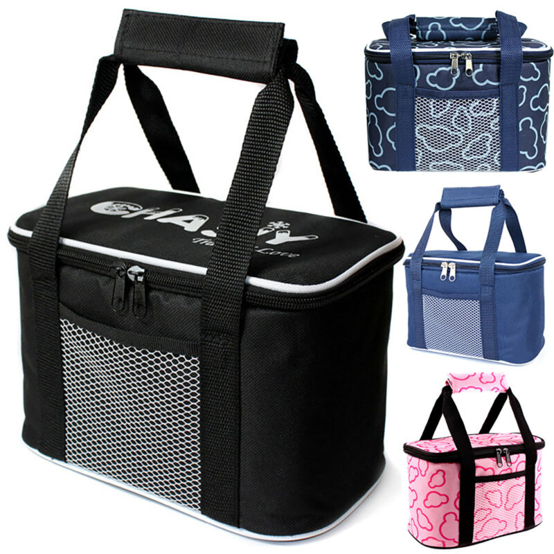 Insulated Food Drink Thermal Cooler Bag Outdoor Travel Picni