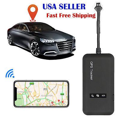 Mini Realtime Gps Car Tracker Locator Gprs Gsm Tracking Device Vehicle Truck Van