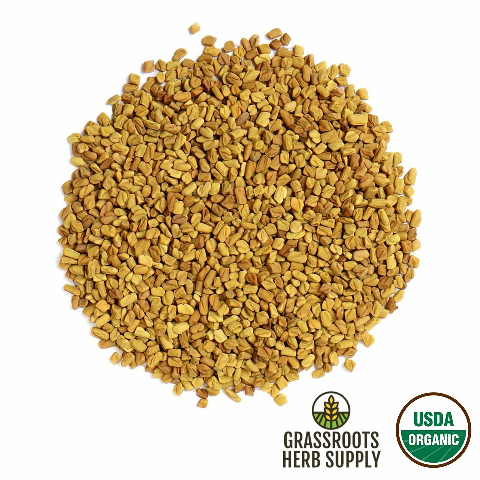 Organic Fenugreek Seed, Whole