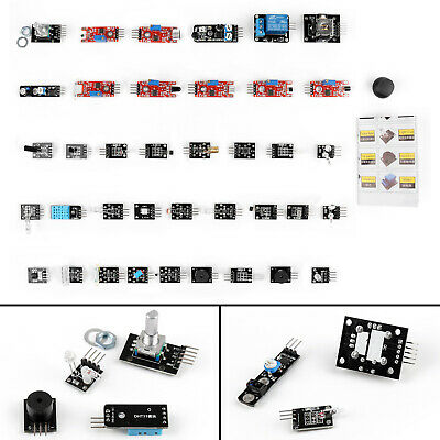 1 Set 37 In 1 Sensor Modules Starter Kit For Arduino Mcu Education User Ss