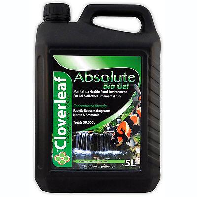 Cloverleaf Absolute Bio Gel 5L- Nitrate & Ammonia Reducer