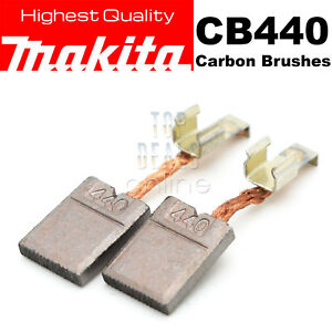 Makita CB440 Carbon Brushes DTD140 DTD146 DHP456 DHP458 DTW251 BHP451 BHP452