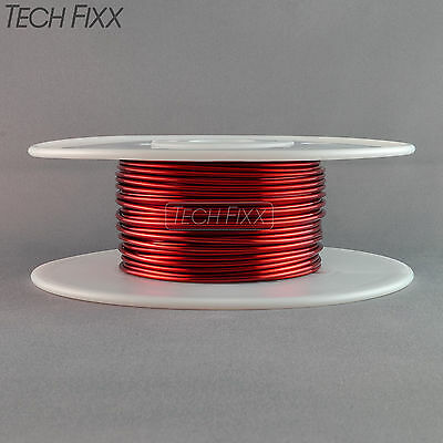 Magnet Wire 12 Gauge Awg Enameled Copper 50 Feet Coil Winding Crafts 1lb Red