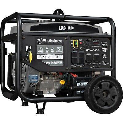 Open Box Westinghouse Wpro8500 Portable Generator