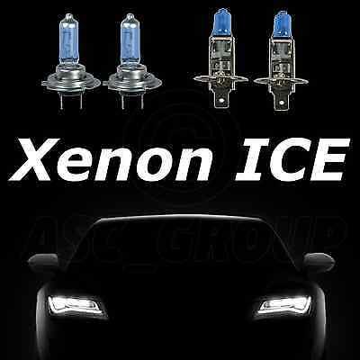 Xenon Ice White Scheinwerferlampen 100w H7 & H1 Frontscheinwerfer