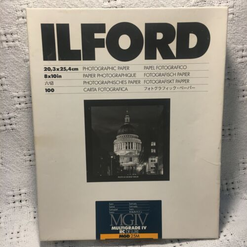 Ilford Mixed Lot of 8x10 Black and White Multigrade Photo Paper 5 LBS 6 Boxes