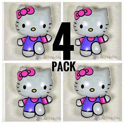 4XL HUGE!! Hello Kitty Birthday Balloon party decoration supplies FREE SHIPPING - Hello Kitty Party Supply