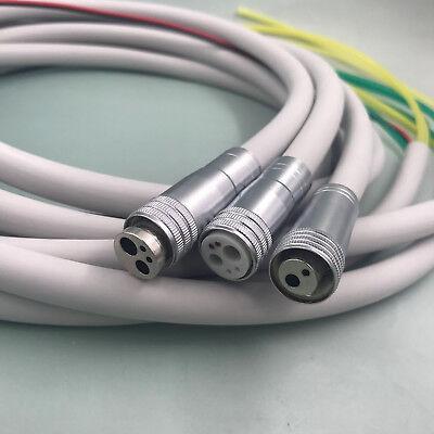 Dental Silicone Tube Hose Tubing 246 Holes Handpiece Air Turbine Fiber Option