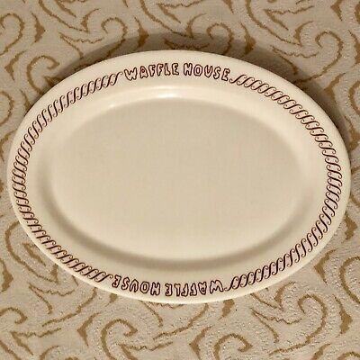 Vintage Vintage Waffle House Platter Plate Arcopal France House Of Horrors Font