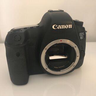 Canon EOS 6D DSLR Camera Full Frame