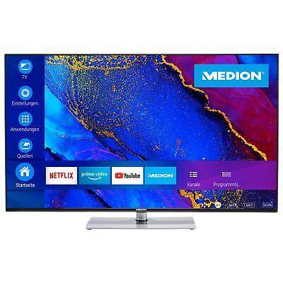 "MEDION X14360 Fernseher 108cm/43"" Zoll 4K UHD Smart LED TV HDR 10 Dolby Vision G"