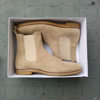 Marc Wenn Tan Suede Chelsea Boots Us12