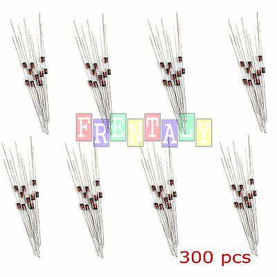 300pcs 2v 39v 30 Values 12w 0.5w Zener Diode Assorted Kit Assortment Set