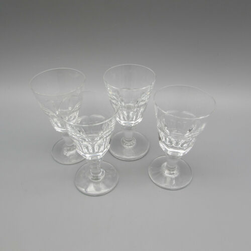 Baccarat France Crystal Bretagne Cordial Glasses - Set of Four