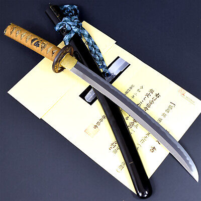 Authentic JAPANESE KATANA SWORD WAKIZASHI MASAMITSU 正光 signed w/NBTHK HOZON NR!!