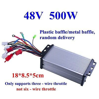 Us 48v 500w Electric Bicycle E-bike Scooter Brushless Dc Motor Speed Controller