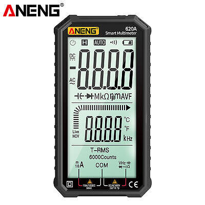 Aneng 4.7 Lcd Acdc Digital Multimeter True-rms Auto-ranging Multi Tester N3t2