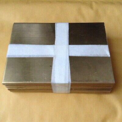Brass Bar 12 Pcs. 332 X 3-34 X 4 Flat Stock