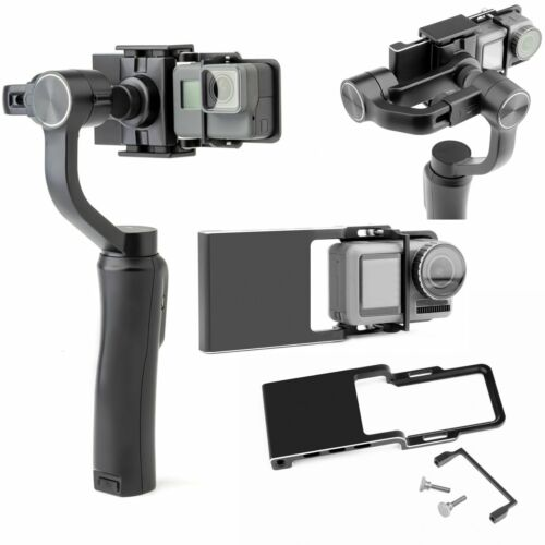 4 TELECAMERE 2x Quick Release clip Fibbia Cinturino base Mount per GoPro Hero 1 2 3 3