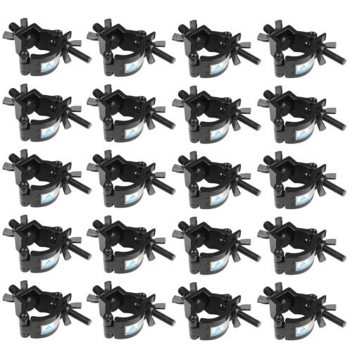 10 Pack Stage Lighting Clamp 1.26-1.38 Inch Lighting Mount Fits 32-35mm OD Pipe