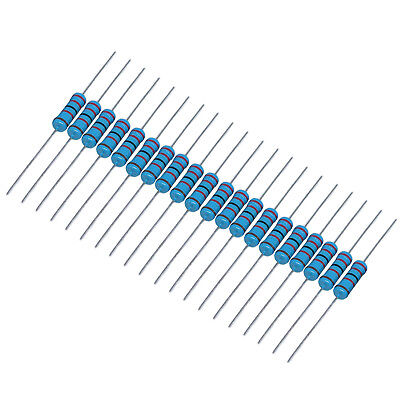 Us Stock 20pcs 1k Ohm Metal Film Resistor 3w - 1 3 Watt High Quality