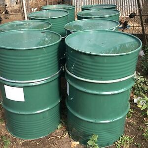 Metal 44 gallon drums Glamorgan Vale Ipswich City Preview