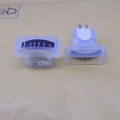 1x Mera 1-6 Analog Dc Micro Amper Meter Panel Microampermer Ambilight