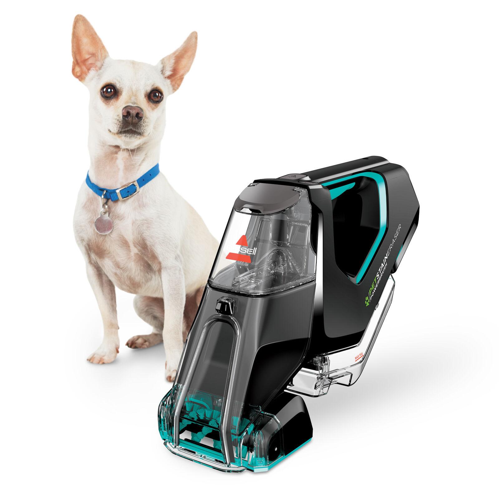 Bissell Pet Stain Eraser PowerBrush Portable Carpet Cleaner