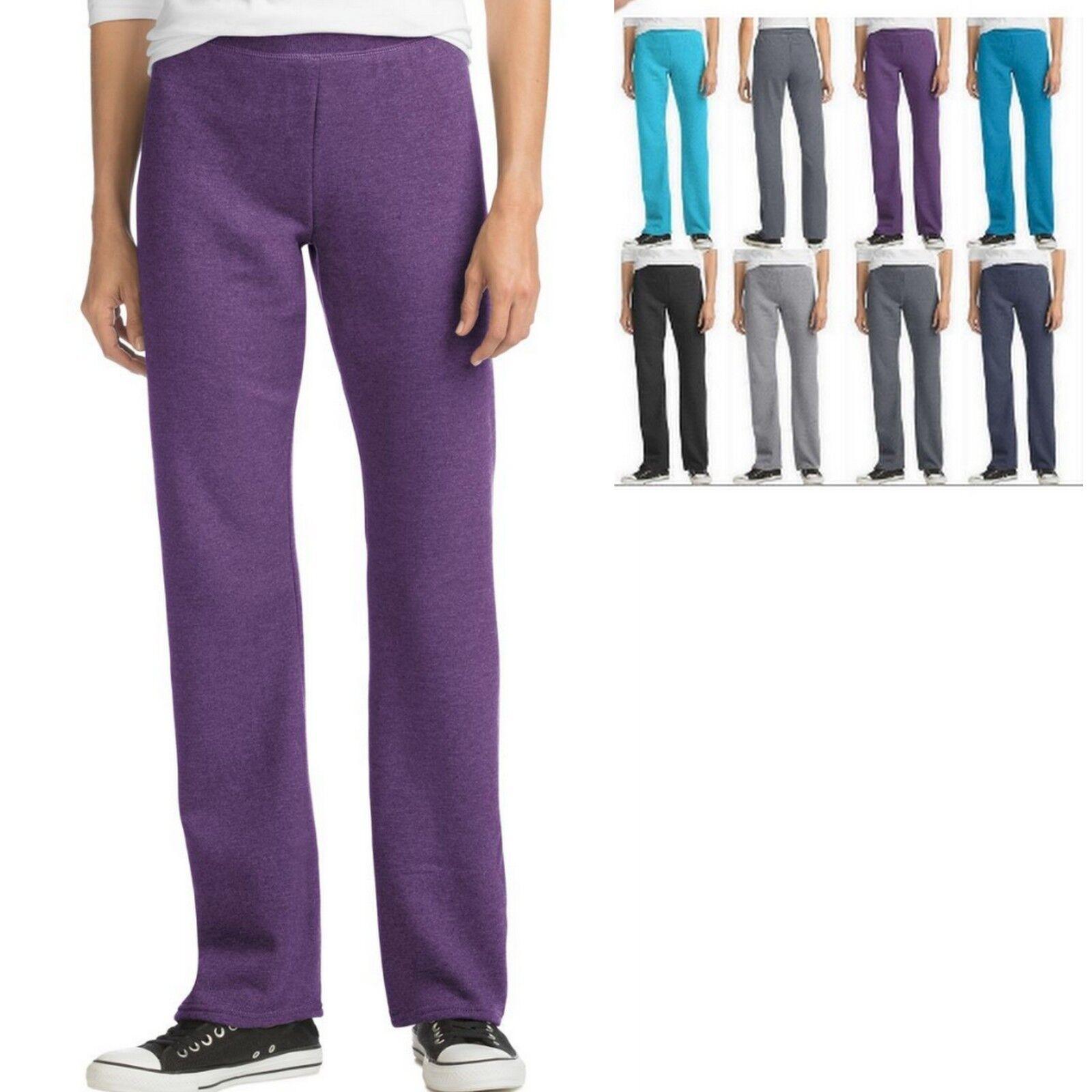 Hanes Women's Open Leg Sweatpants O4629 - BUY TWO GET THIRD