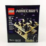 LEGO MINECRAFT Micro World The End Set 440 PCs New 21107 Ender Dragon