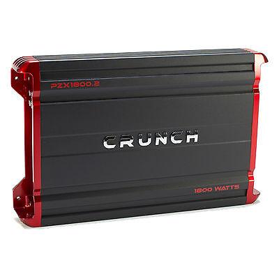 Crunch Powerzone 1800 Watt 2 Channel Car Audio Class A B Mosfet Power Amplifier