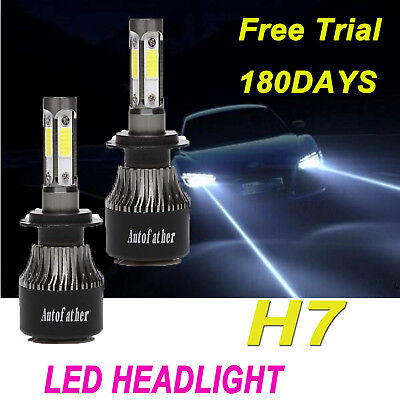 H7 LED Headlight 280W 28000LM Bulbs Kit 6000K For Audi A3 A4 A5 BMW 1 3 5 Series for sale  Coalville