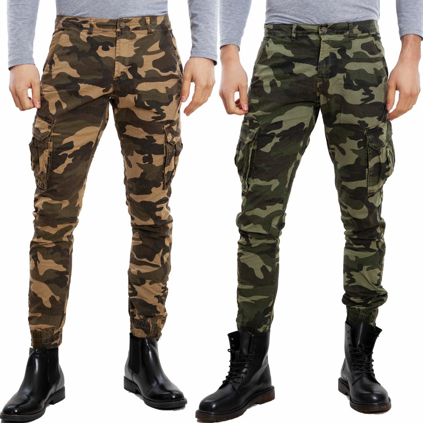 comment chercher grandes variétés 2019 real Détails sur Pantalons homme cargo militaire mimétiques poches camouflage  TOOCOOL XX-5805