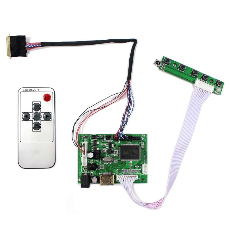 """HDMI LCD Controller Board Work For 15.6"""" B156XW02 LP156WH2 1366x768 LCD Screen"""