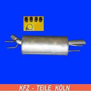 OPEL-OMEGA-B-2-0-Sedan-Silenciador-posterior
