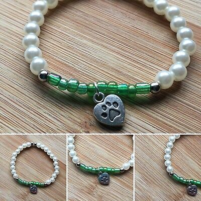 Handmade Dog Cat Paw Charm Bracelet For Kids Gift Idea - Dress Up Jewellery](Ideas For Dressing Up)