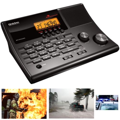 500 Channel Police Fire Scanner Weather Alert FM Amateur Rad