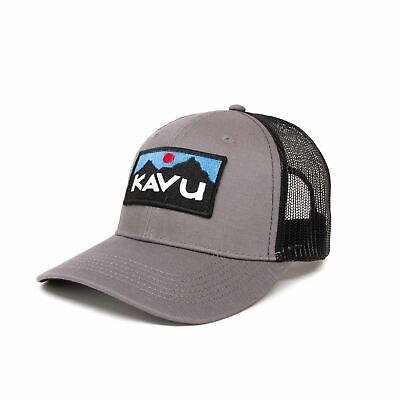 KAVU Above Standard Trucker Cap - Charcoal