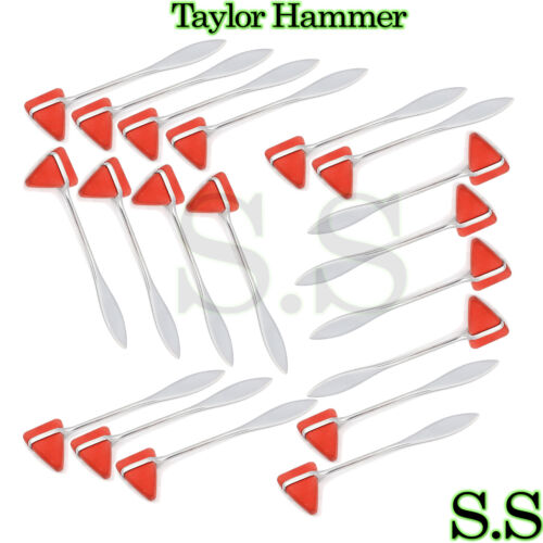 140 Piece  TAYLOR PERCUSSION Neurological Reflex HAMMER New