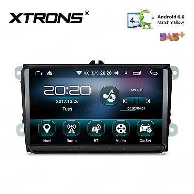 "9"" Autoradio GPS VW SEAT SKODA Android 6.0 Quad Сore 16G / 1G, XTRONS PS96MTVL"