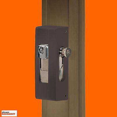 Burg-Wächter Tür und Fenstersicherung BlockSafe B1 BR SB Scharnier Riegel neu (Schlösser Und Riegel)