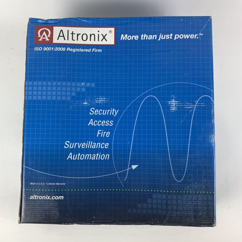New Altronix ALTV2416350  16-Output Power Supply 24 VAC @ 14A / 28 VAC @ 12.5A