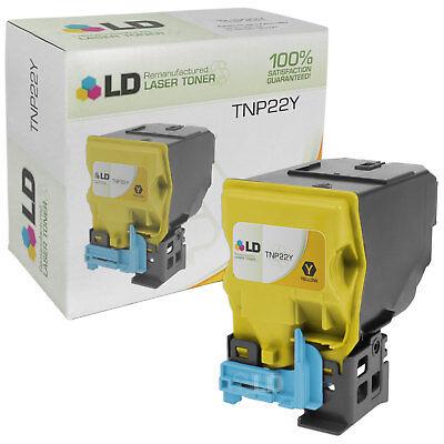 LD A0X5232 TNP22Y Yellow Laser Toner Cartridge for Konica-Minolta Printer for sale  Long Beach