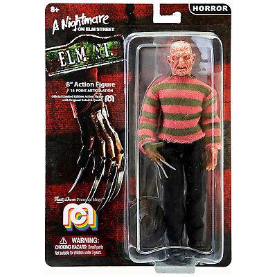 Mego Horror Freddy Krueger 8 Inch Action Figure NEW IN STOCK
