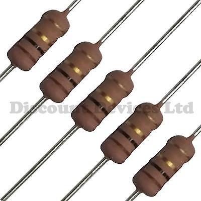 5 X 180K ohm 2W Metal Film Resistor 180K 2 Watt