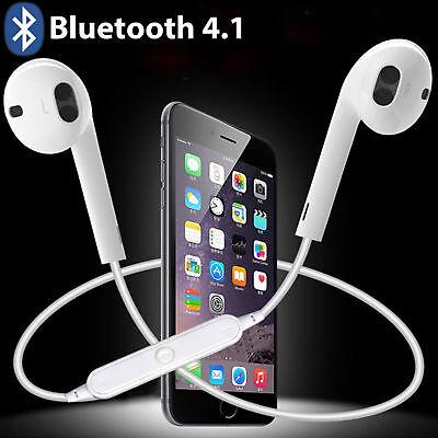 Bluetooth Headset Wireless Sport Stereo Headphones Earphone Earbuds With -