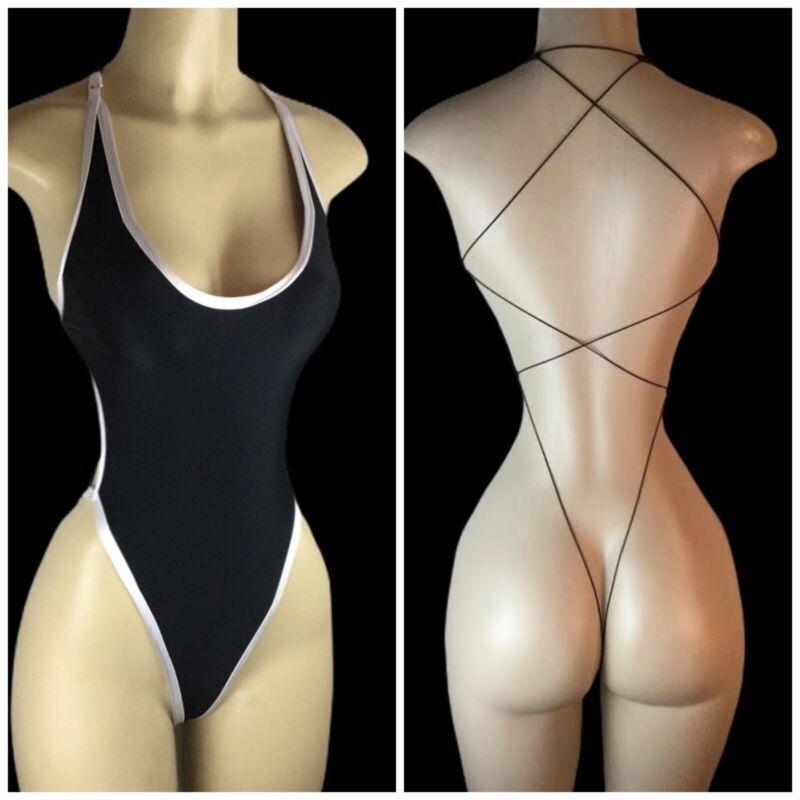 Exotic Dancewear Stripper Swimwear One Piece