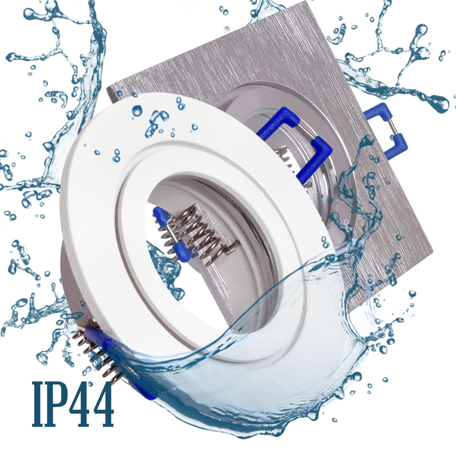 Bad Einbaustrahler Feuchtraum GU10 Spot Einbauspot LED Deckenstrahler IP44